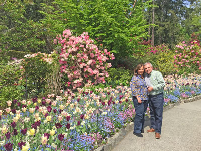 May 2018 ... click to see many photos of our trip to Alaska, Washington and British Columbia